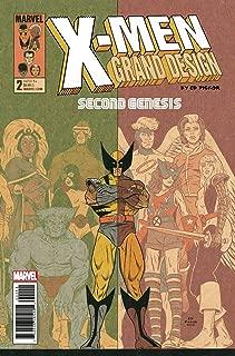 X-MEN GRAND DESIGN SECOND GENESIS #2 REGULAR COVER RELEASE DATE 8/29/2018