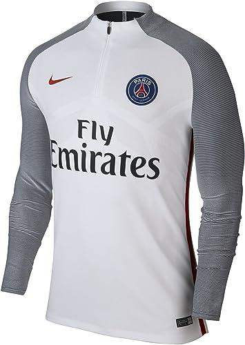 Nike - PSG M NK STRKE DRIL - Maillot - Blanc