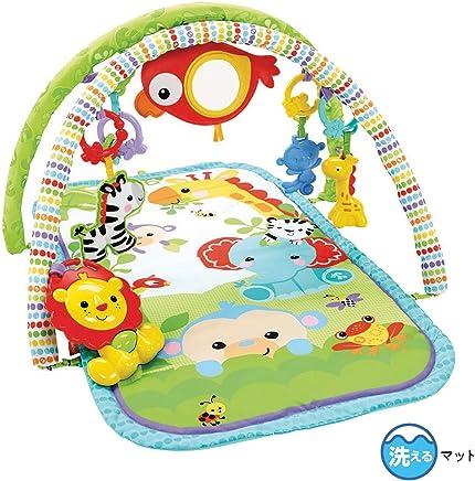Ginásio Amigos da Floresta 3 em 1 Fisher Price, Mattel, Verde