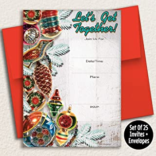 Best ornament exchange invitations Reviews