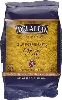 Delallo, Orzo Corn And Rice, 12 Ounce