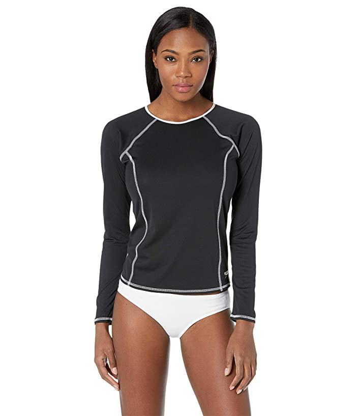 Speedo  Swim Tee ( Black) Womens Swimwear
