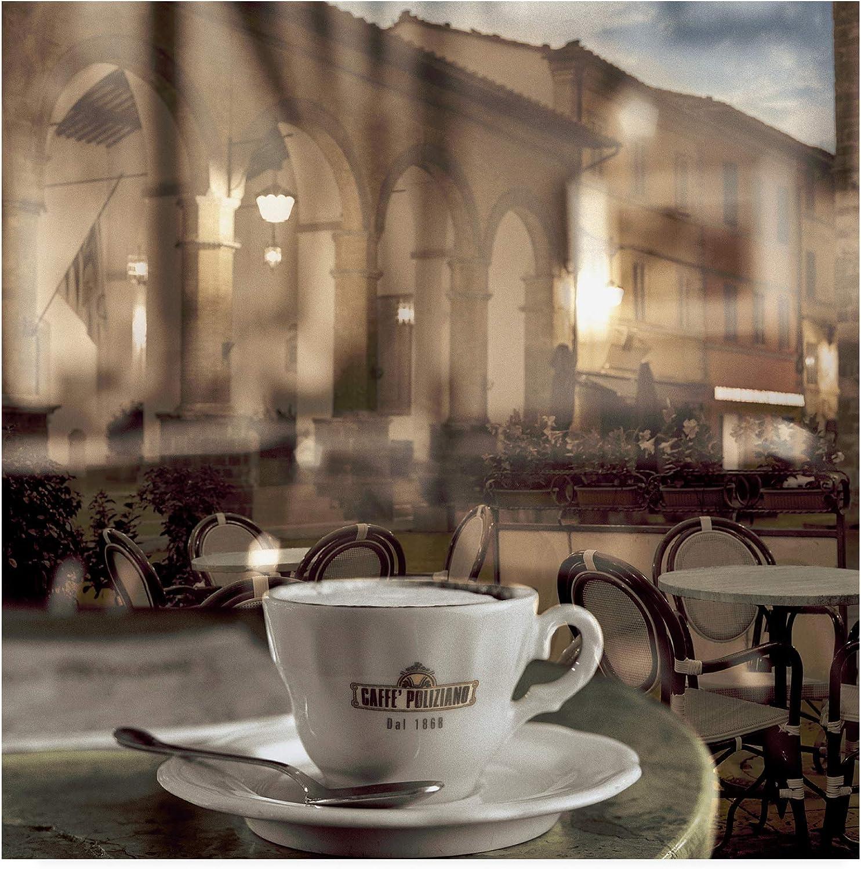 Trademark Fine Art Montepulciano Caffe  1 by Alan bluestei, 14x14 Multiple