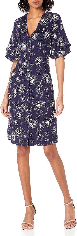 Somedays Lovin Women's Glimmering Nights Pritned Midi Dress