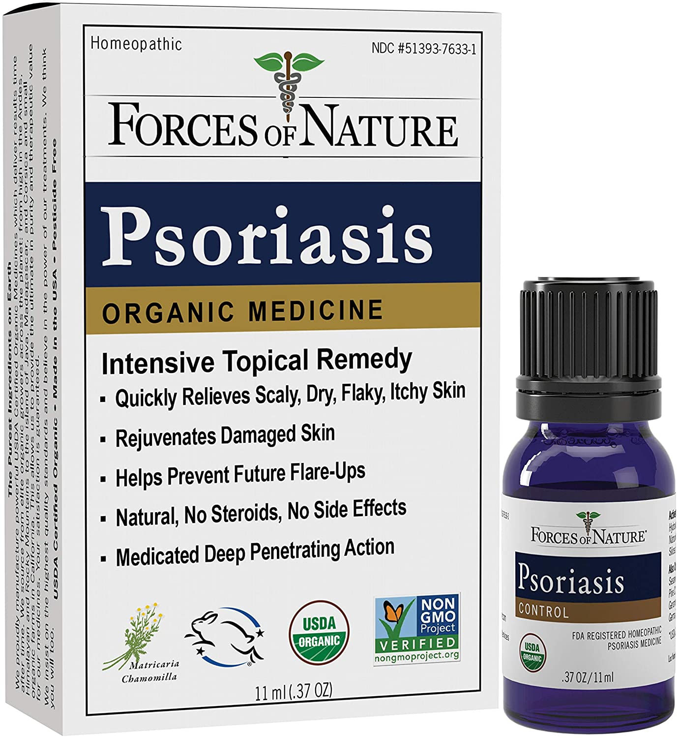 Classic Forces of Nature -Natural Organic Non Relief G Psoriasis 11ml Fort Worth Mall