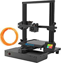 XVICO 3D Printer DIY Kit Aluminum Printing Machine with Filament Run Out Detection Sensor and Resume Print Metal Base Desktop 3D Printers for Home and School Education 220x220x250mm, Black