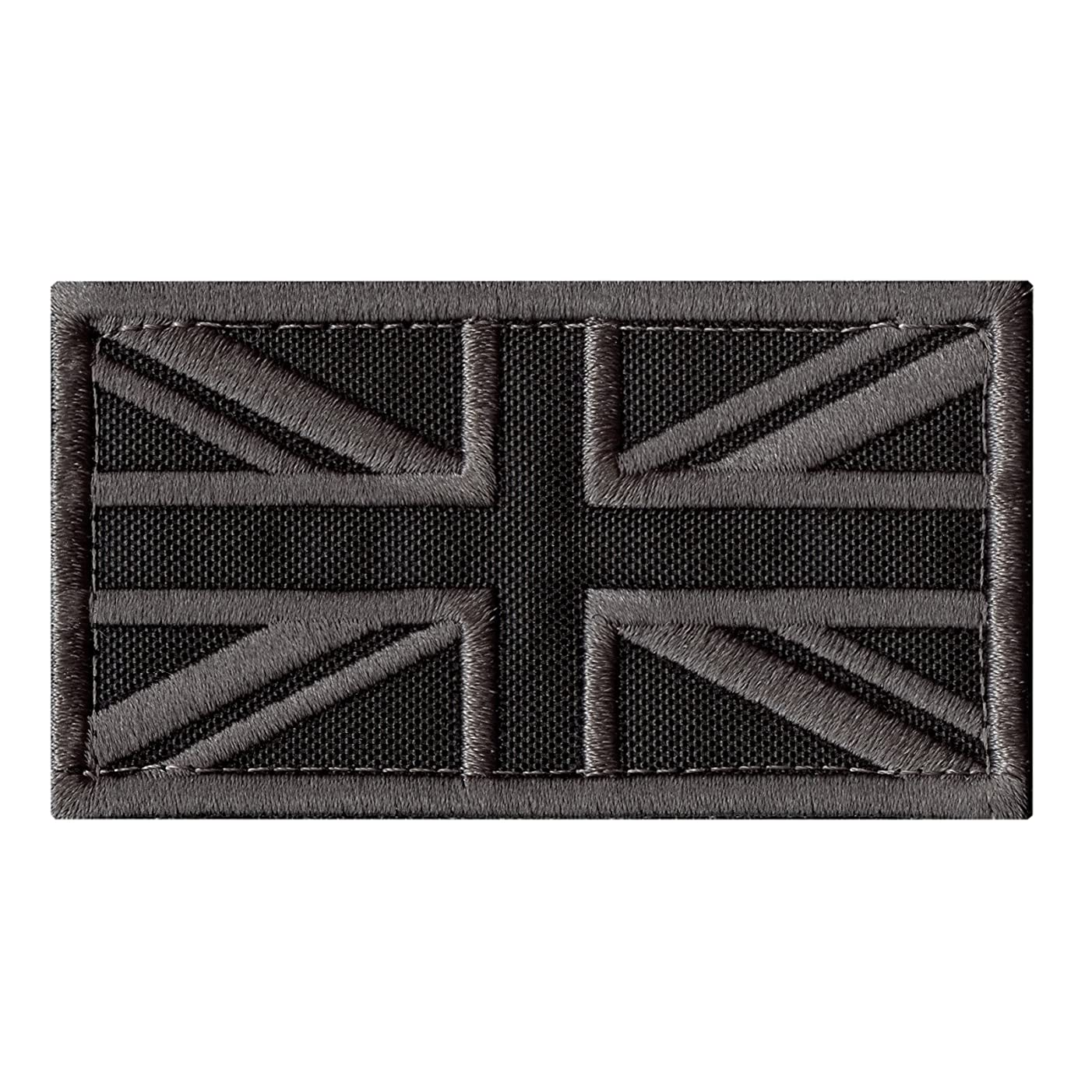 LEGEEON ACU Great Britain UK Union Jack Flag Subdued Morale Tactical Badge Army Embroidery Sew Iron on Patch