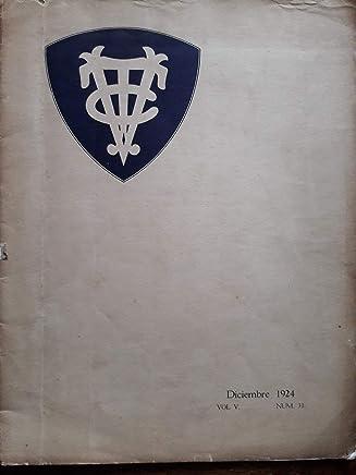 Revista del vedado tennis club habana cuba diciembre de 1924