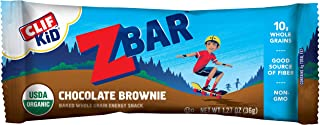 Clif Kid ZBAR - Organic Granola Bars - Chocolate Brownie - (1.27 Ounce Energy Bars, Lunch Box Snacks, 18 Count)