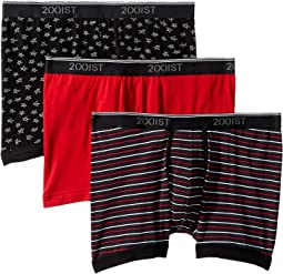 Stretch 3 Pack Boxer Brief