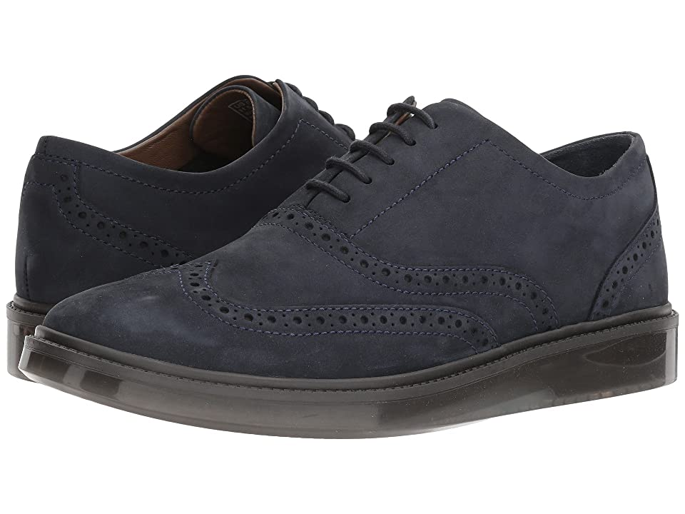Hush Puppies Shiba Brogue Oxford (Navy Nubuck) Men