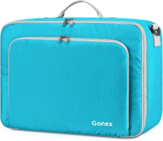 Travel Duffel Bag, Portable Carry on Luggage Personal Item Bag for Airlines, Water& Tear-Resistant 20L Blue