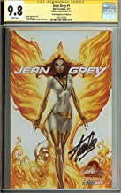 X-Men Jean Grey #1 White Phoenix Campbell Variant CGC 9.8 Signed Stan Lee + FREE SIGNED X-MEN BOOK