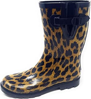Women Rubber Rain Boots - 11