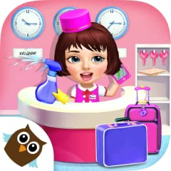 Play Sweet Baby Girl Hotel Cleanup game for girls & boys! NEW! Clean up super messy boat, van, lighthouse, airship & fountain! Take care of the crazy hotel! Clean up messy hotel rooms, cafe, bathroom, gym & swimming pool! Get rid of slime monsters & ...
