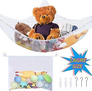 JeVenis 3 PCS Woodland Animals Organizer Bags Bath Toy Storage Bags Travel Organizer Boxes Nursery Room Organizers Kids Toys Organizer Bags