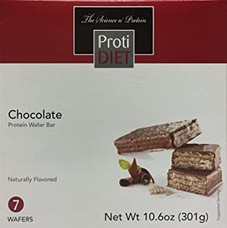 Proti Diet Protien Wafer Bar - box of 7 - 15g protein (CHOCOLATE)