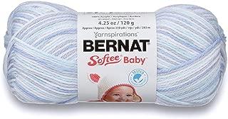Bernat Softee Baby Yarn, Ombre, 4.25 oz, Gauge 3 Light, Blue Flannel