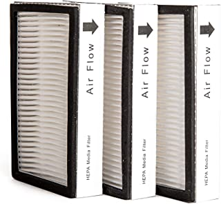 Green Label 3 Pack for Kenmore EF-2 Exhaust HEPA Vacuum Filter (compares to