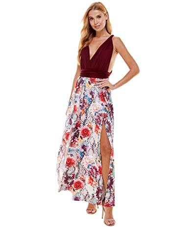 Bebe Convertable Maxi Dress