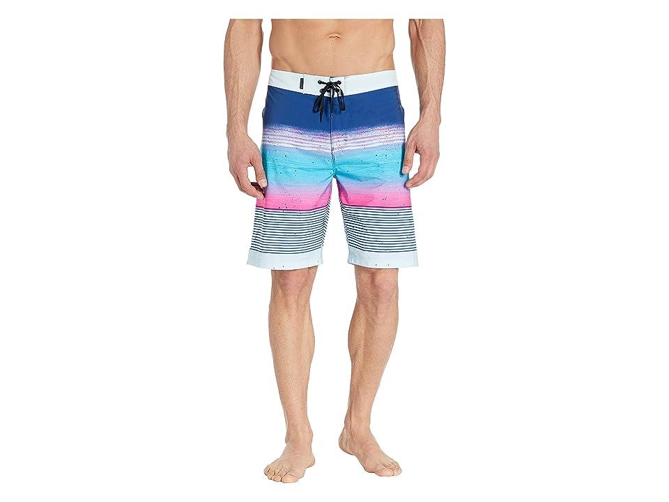 Hurley Phantom Overspray 20 Boardshorts (Gym Blue) Men's Swimwear