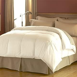 Spring Air 66180 Hypoallergenic Cotton Cover Dream Form Microgel Down Alternative Comforter/Duvet Insert, King/104