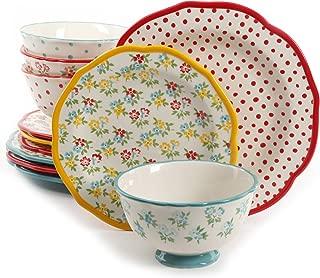 Best the pioneer woman 12-piece dinnerware set Reviews