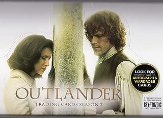 Outlander Season 3 Trading Card Box by Cryptozoic - FACTORY SEALED