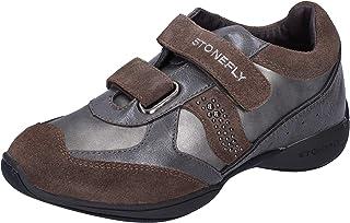 Stonefly Sneaker Bambina Pelle Grigio