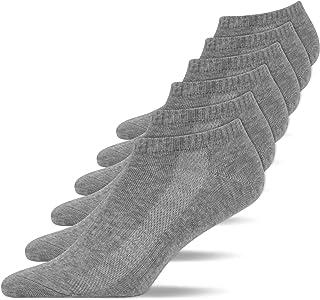 Snocks Mens Trainer Socks 6 Pairs Sport Ankle Socks Women