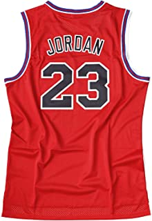 Weltle Men's Basketball Jersey 23# #1 Bugs Space Movie Jersey Shirts Red/Blue S-XXXL