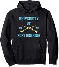 University Of Fort Benning Est 1918 Pullover Hoodie