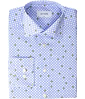 Eton - Slim Fit Avocado Shirt