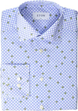 Slim Fit Avocado Shirt