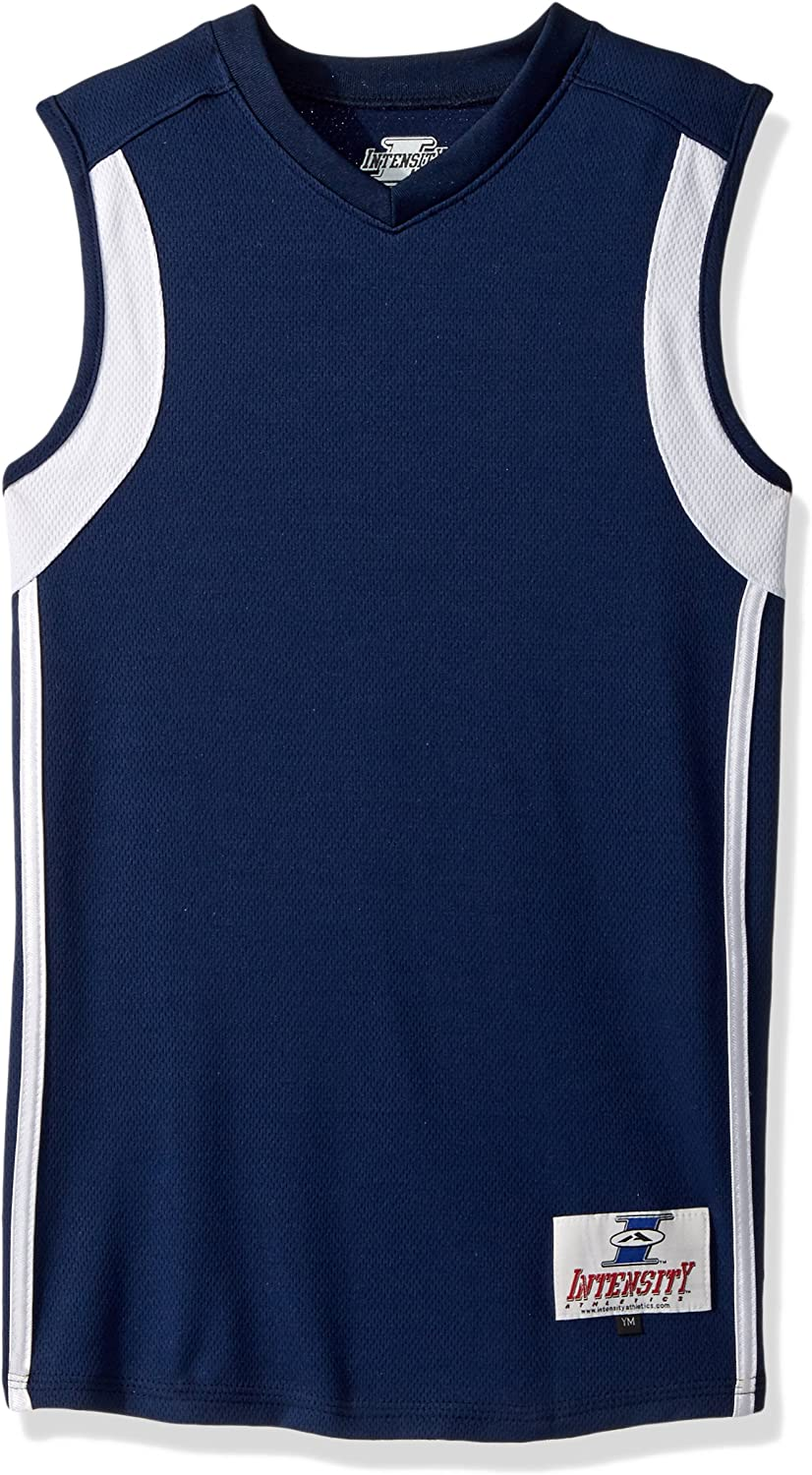 Intensity Boys Low Post Fitted Basketball Jersey