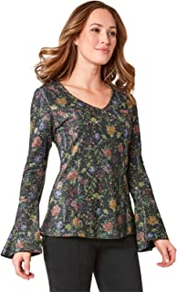 Joe Browns Womens Bold Florals Twist Front Top