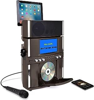 Akai KS800-BT Bluetooth Front Load CD&G Karaoke System, Black (