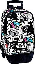 Star Wars Mochila con Carro Plegable, Ruedas, Trolley