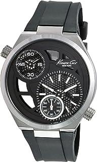 Kenneth Cole Men's KC1683 Black Polyurethane Quartz Watch