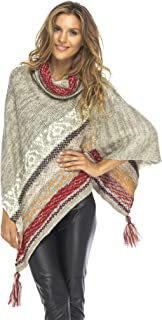 Best brown poncho with hood Reviews