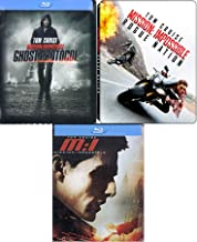 Tom Triple Exclusive Steelbook M:i Collection Blu Ray Limited Edition Impossible Mission Epic Action Triple Cruise Feature 1 / Ghost Protocol / Rogue Nation
