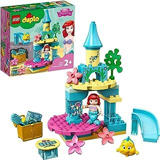 LEGO 10922 DUPLO Disney Ariëls Onderzeese Kasteel, Poppetjes van Princess Ariel, Speelgoed voor Peuters vanaf 2 Jaar met D...