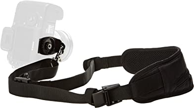 AmazonBasics Padded Camera Shoulder Sling Strap - 13.5 x 3.2 x .5 Inches, Black