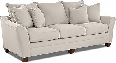 Amazon.com: Hillandale Apartment Size Sofa, Smoke, 78