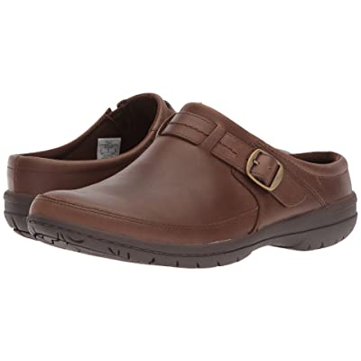 Merrell Encore Kassie Buckle Slide (Dark Earth) Women