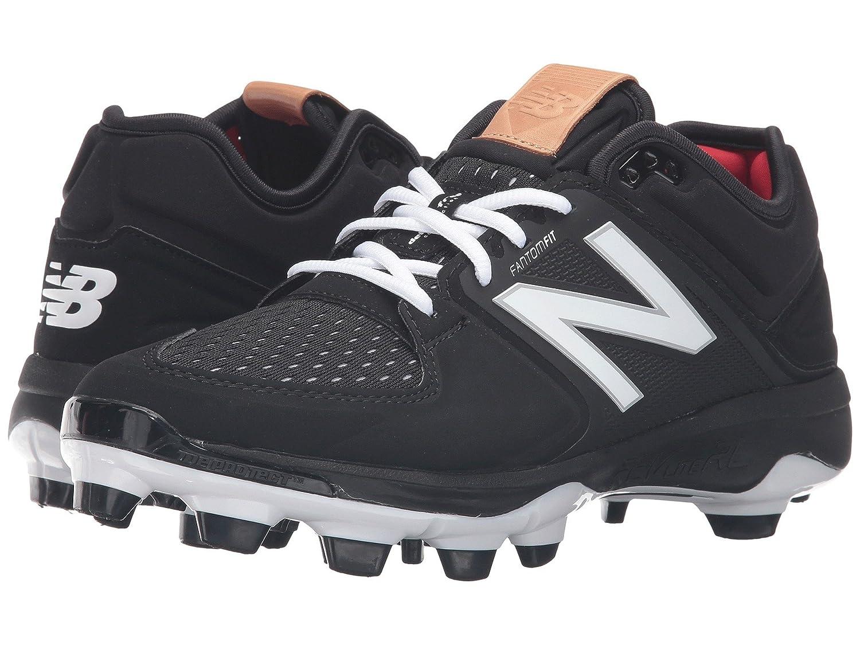 (ニューバランス) New Balance メンズ野球ベースボールシューズ?靴 PL3000v3 Black/Black 5 (23cm) D - Medium