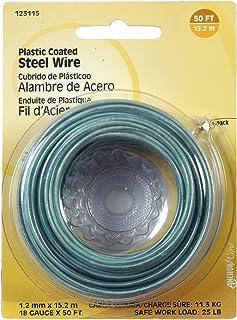 Hillman 50 ft. L Plastic 18 Ga. Wire