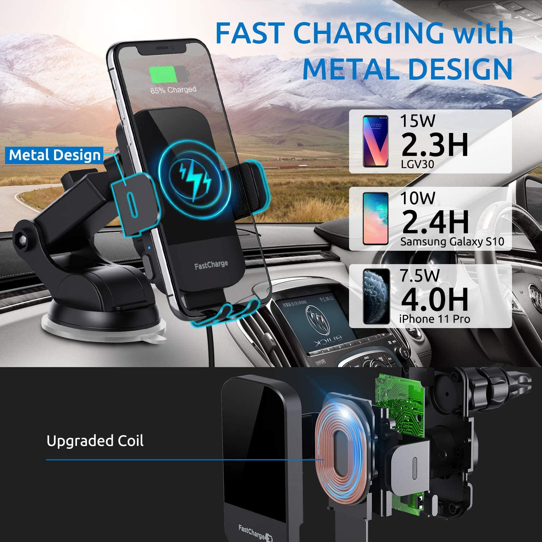 CHGeek Wireless Phone Mount for Ford Edge