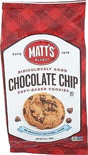 Matts Cookies Chocolate Chip Cookies, 14 Oz