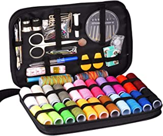 Innocheer Sewing Kit With 97 Sewing Accessories, 24 Spools of Thread, 24 Colors, Mini Sewing Kits For Beginners, Traveler, Emergency, Whole Family To Mend and Repair